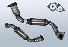 Catalizzatore VW Touareg II 3.0 V6 TDI 4M BMT (7P)