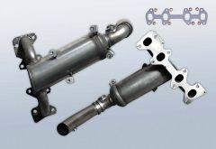 Catalizzatore FORD Ka 1.2i 8v (RU8)