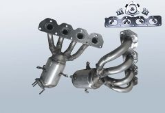 Catalizzatore OPEL Zafira B 1.8i
