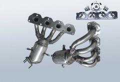 Catalizzatore OPEL Zafira B 1.6i