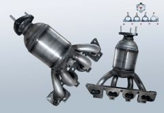 Catalizzatore OPEL Astra G 1.6 16v (T98)
