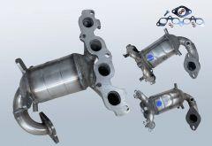 Catalizzatore FORD Fiesta V 1.6 16v (CBK)