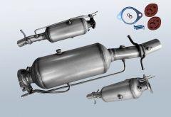 Filtro antiparticolato diesel FORD Transit 2.2 TDCI (TT9)