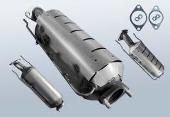 Filtro antiparticolato diesel KIA Ceed sw 1.6 CRDi (ED)