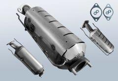 Filtro antiparticolato diesel HYUNDAI I30cw 1.6 CRDi (FD)