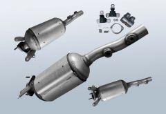 Filtro antiparticolato diesel RENAULT Megane II 1.9 dCi (BM0/1 CM0/1)