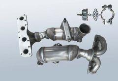 Catalizzatore CITROEN C3 II 1.4 Vti (A51)