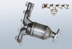 Catalizzatore OPEL Astra G 1.6 Twinport (F69)