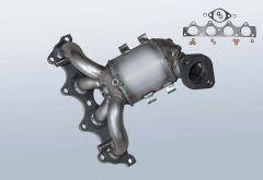 Catalizzatore KIA pro ceed 1.4 CVVT (ED)