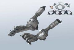 Catalizzatore FORD Fiesta VI 1.25 16v (CCN)