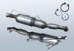 Filtro antiparticolato diesel VW Crafter 2.0 TDI (2F)