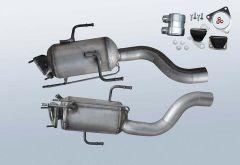 Filtro antiparticolato diesel VW Touareg 3.0 TDI (7LA,7L6,7L7)
