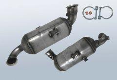 Filtro antiparticolato diesel CITROEN C5 II 1.6 HDI 110 (x7)