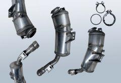 Filtro antiparticolato diesel MERCEDES BENZ S-Klasse S 320 CDI 4matic (W221080)