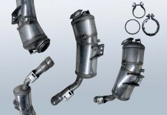 Filtro antiparticolato diesel MERCEDES BENZ S-Klasse S 350 CDI 4matic (W221081)