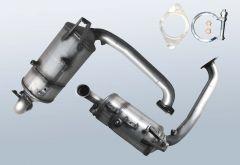 Filtro antiparticolato diesel MAZDA 3 1.6 MZ-CD (BK)