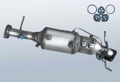 Filtro antiparticolato diesel MAZDA 3 2.0 CD (BK)