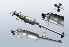 Filtro antiparticolato diesel MAZDA 6 2.2 CD (GH)