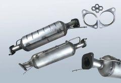 Filtro antiparticolato diesel KIA Carens 2.0 CRDI (UN)