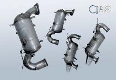 Filtro antiparticolato diesel OPEL Zafira C 2.0 CDTI (P12)