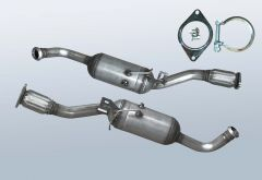 Filtro antiparticolato diesel RENAULT Trafic II 2.0CDTI (J83)