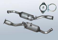 Filtro antiparticolato diesel RENAULT Trafic II 2.0CDTI (F83)