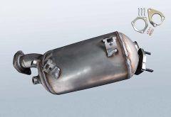 Filtro antiparticolato diesel AUDI A4 2.0 TDI (8H7,B6,8HE,B7)