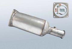Filtro antiparticolato diesel CITROEN C5 I 2.2 Hdi (DC)