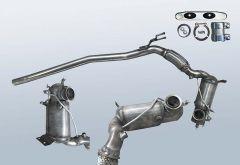 Filtro antiparticolato diesel VW Passat 2.0 TDI 4motion (3C2,B6)