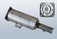 Filtro antiparticolato diesel CITROEN Jumpy II 2.0 HDI (EA_EB)