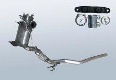 Filtro antiparticolato diesel AUDI Q3 2.0 TDI Quattro (8U)