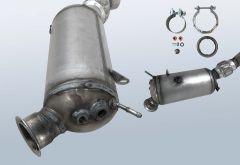 Filtro antiparticolato diesel BMW 118xd (F20)