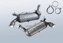 Filtro antiparticolato diesel MERCEDES BENZ C 200 T CDI BlueE (S204201)