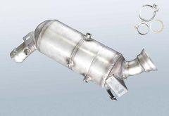 Filtro antiparticolato diesel MERCEDES BENZ C 200 T CDI (S203207)