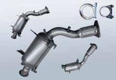 Filtro antiparticolato diesel VW Touareg 2.5 R5 TDI (7LA/7L6/7L7)
