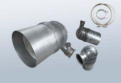 Filtro antiparticolato diesel CITROEN C4 1.6 HDI (LA)