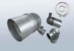 Filtro antiparticolato diesel CITROEN C4 1.6 HDI (LC)