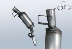 Filtro antiparticolato diesel MERCEDES BENZ ML 320 4matic CDI (W164122)