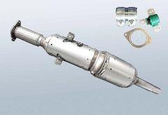 Filtro antiparticolato diesel RENAULT Megane III CC 1.5 dCi (EZ0