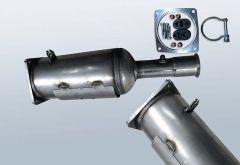 Filtro antiparticolato diesel CITROEN C4 2.0HDI (LC)
