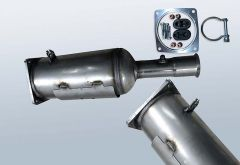Filtro antiparticolato diesel CITROEN C4 2.0HDI (LA)