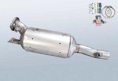 Filtro antiparticolato diesel RENAULT Espace IV 2.2 dCi (JK07)
