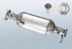 Filtro antiparticolato diesel FORD Mondeo III 2.2 TDCI (B5Y)