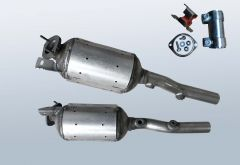 Filtro antiparticolato diesel RENAULT Grand Scenic II 1.9 dCi (JM14