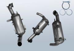 Filtro antiparticolato diesel OPEL Combo D 1.3 CDTI (X12)