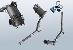 Filtro antiparticolato diesel VW Scirocco III 2.0TDI (137)