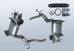 Filtro antiparticolato diesel VW Scirocco III 2.0 TDI (137)