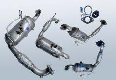 Filtro antiparticolato diesel FORD Fiesta VI 1.4 TDCI (CB1)