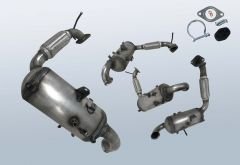 Filtro antiparticolato diesel FORD B-Max 1.6 TDCI (CB2)