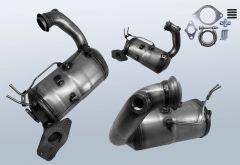 Filtro antiparticolato diesel RENAULT Megane III CC 1.5 dCi 110 (DZ0/1)